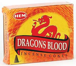 Dragon's Blood Cones (HEM)