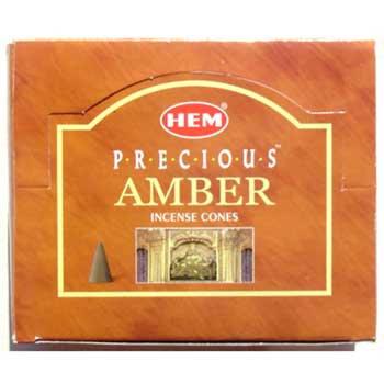 Amber Cones (HEM)