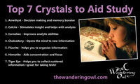 Top 7 Crystals to Aid Study