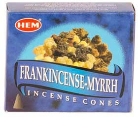 Frankincense - Myrrh Cones (HEM)