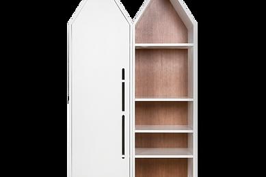 Шкаф домик, стеллаж домик для детской дудивуди doodywoody
