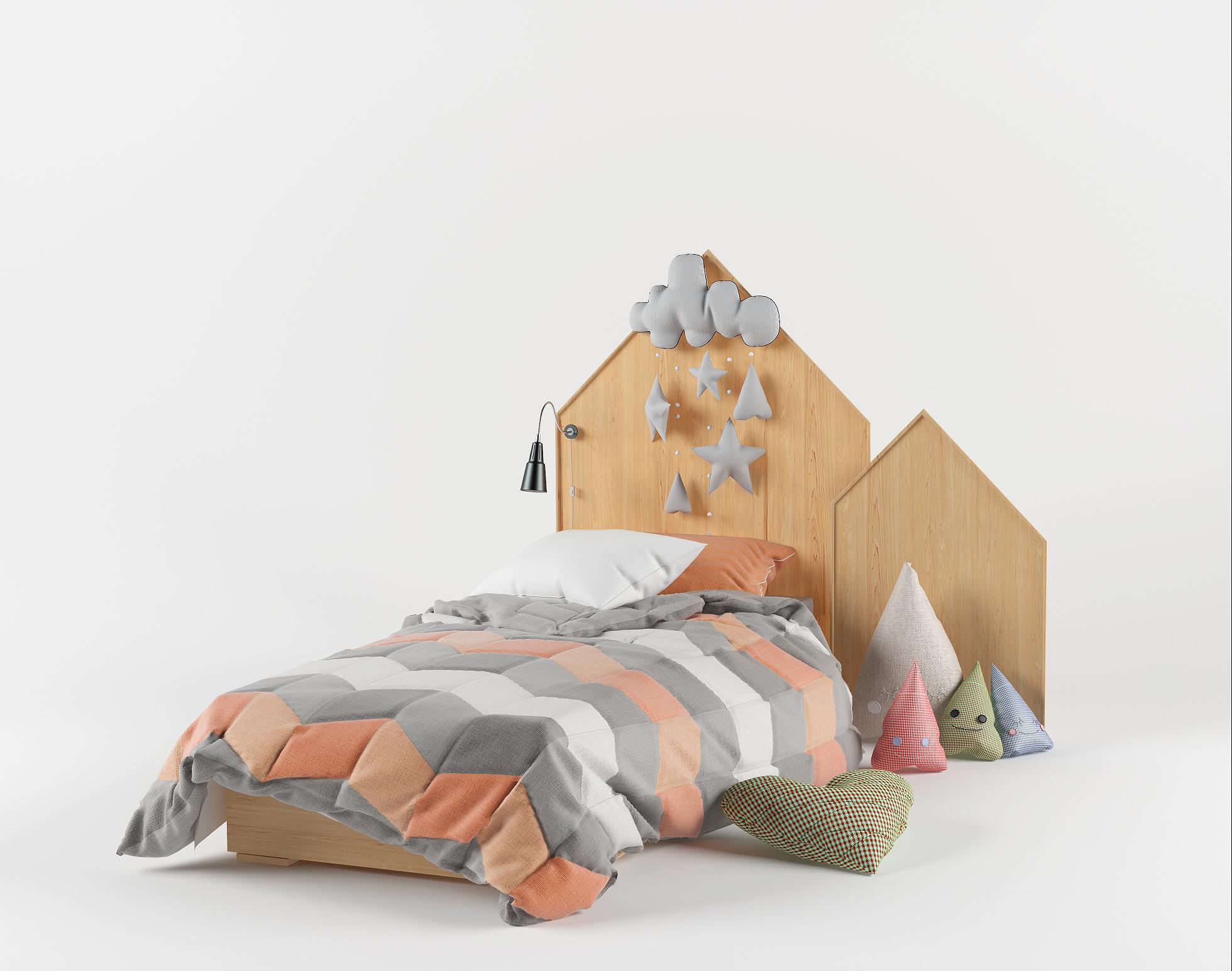 Изголовье для детской кровати