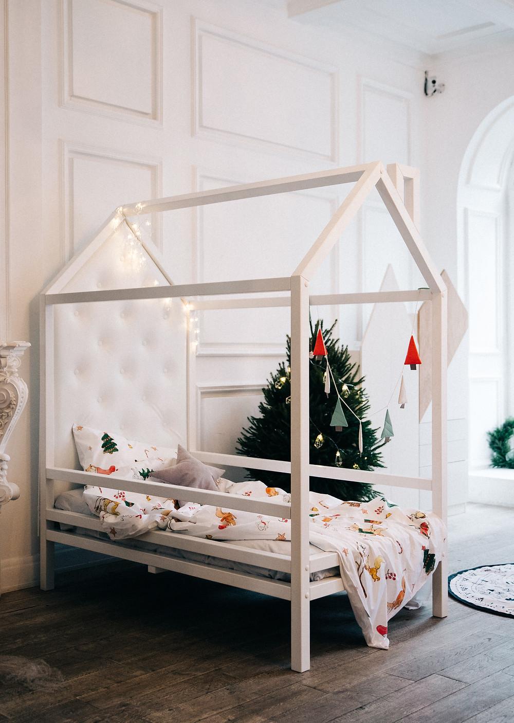 Кровать-дом для детей