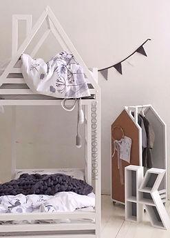 двухэтажная кровать для брата и сестры