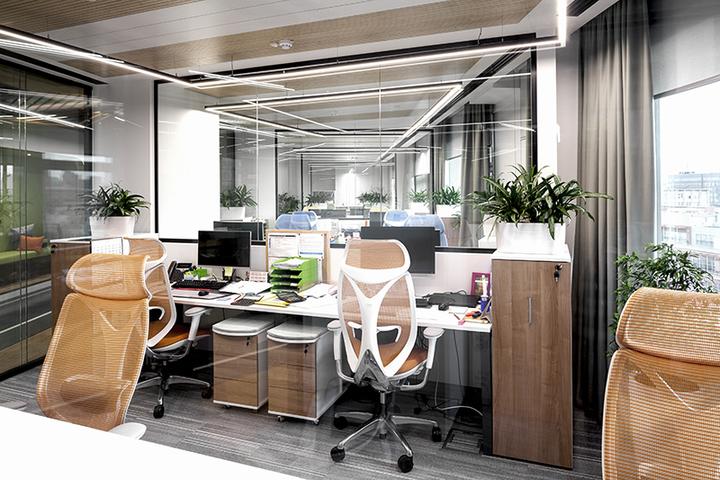 Офис зарубежной компании