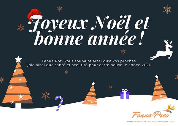 Fenua Prev joyeux noel et bonne année 20