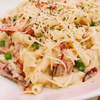 Not your typical pasta dish! This pasta