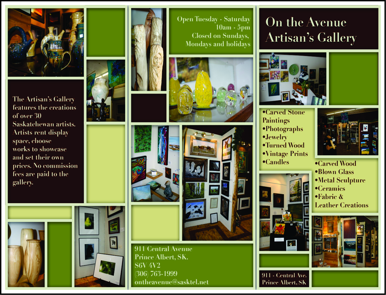 The Artisan's Gallery - Back
