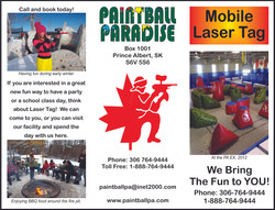 Paintball Paradise - Front