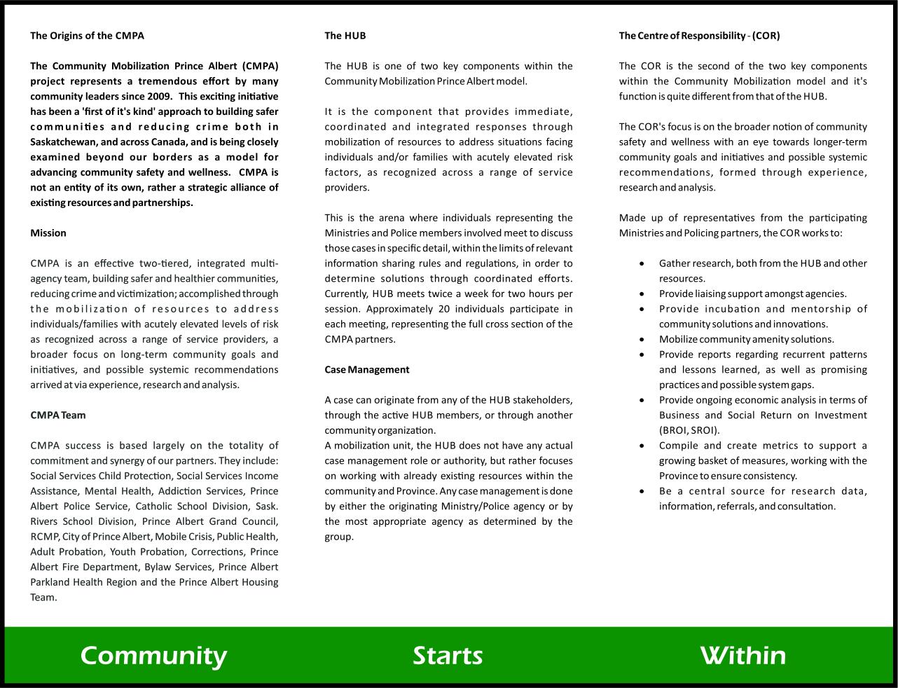 Community Mobilization - Back