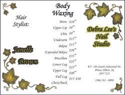 Debra Lee's Nail Studio - Front