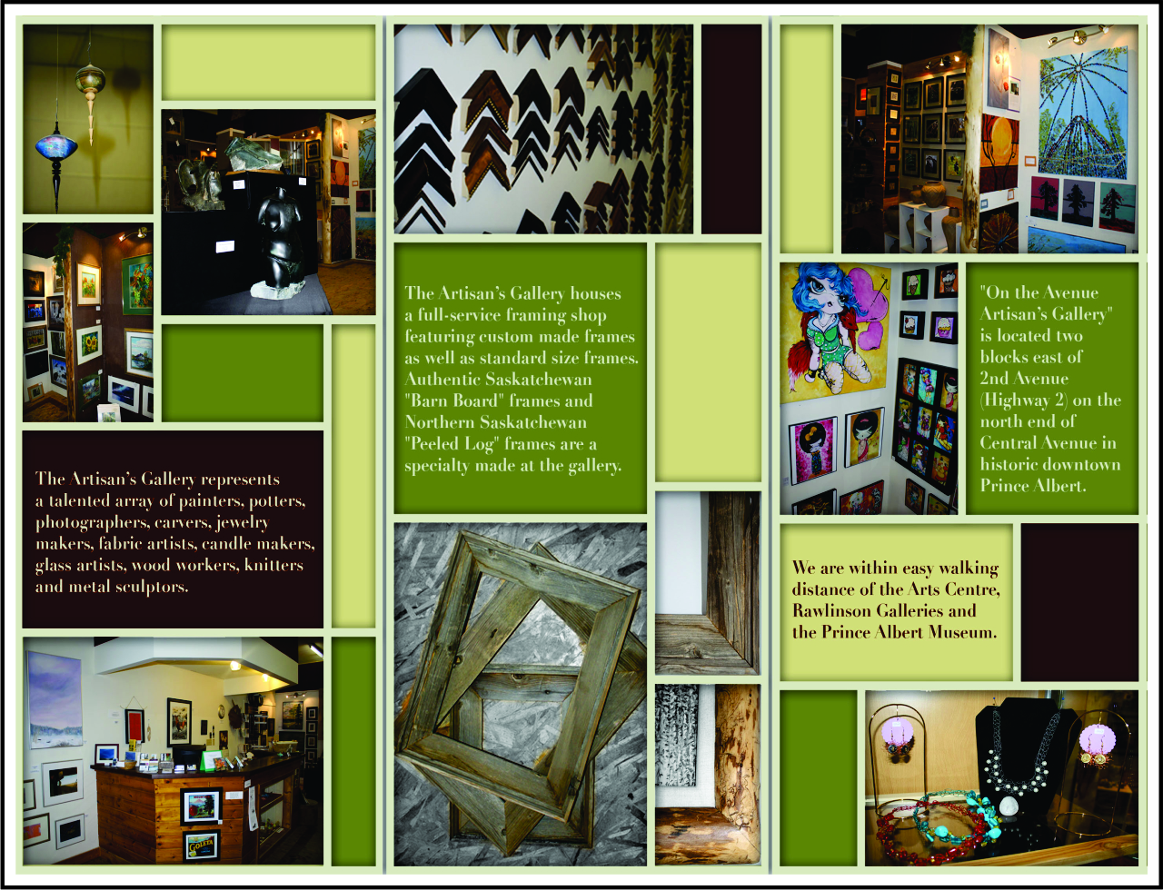 The Artisan's Gallery - Front