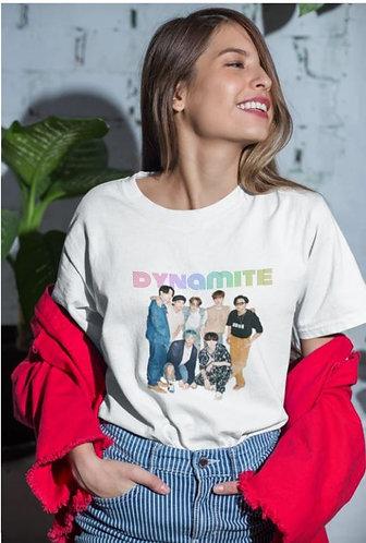 BTS - DYNAMITE VER 2 TSHIRT FOR MEN AND WOMEN