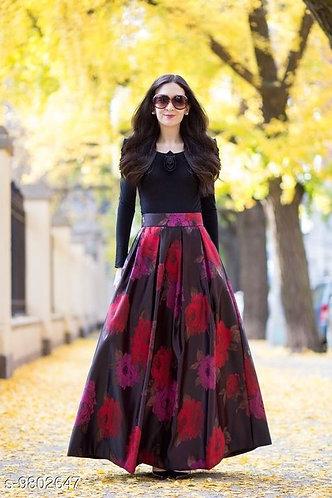 Floral Designer Gown