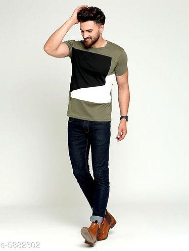 Multicolour Block Print T-shirt