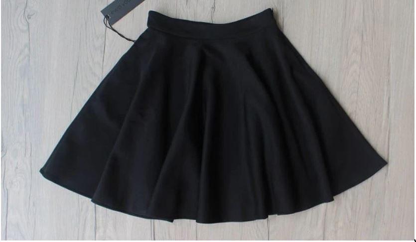 Black Flair Skirt