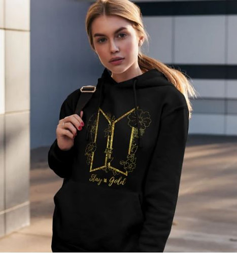BTS - Stay Gold Hoodie For Men And Women