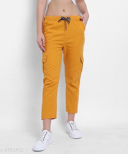 Ankle Length Trouser with Pockets