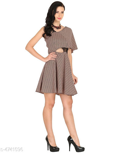 Stylish Crepe Dress