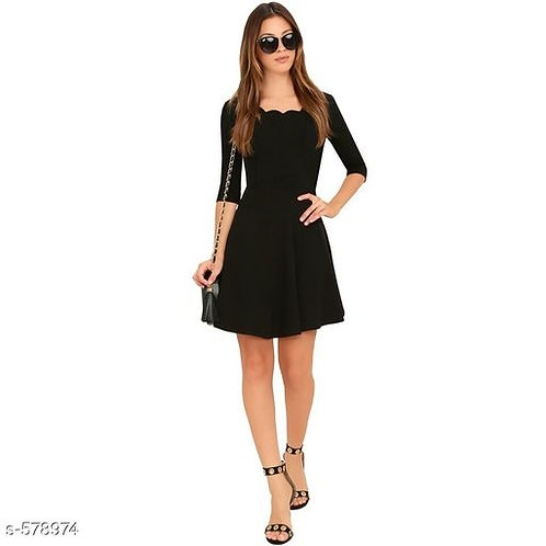 Fit and Flared Dress
