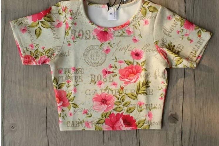 Classic Floral Crop Top