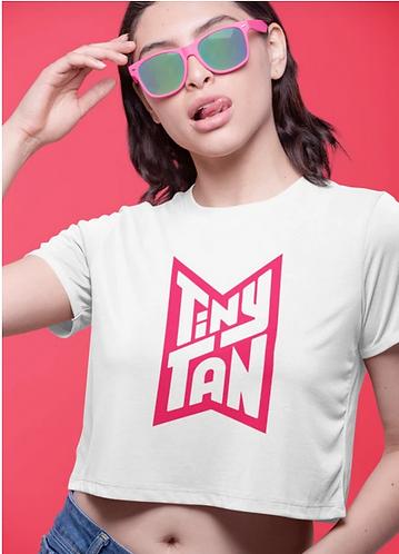 BTS - TINYTAN PINK VER- 2 CROP TOP