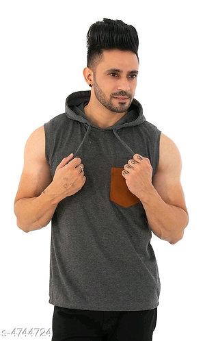 Stylish mens poly cotton t-shirt