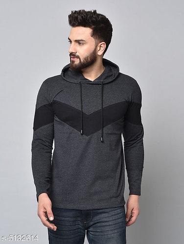 Stylish Men Hooded T-shirt