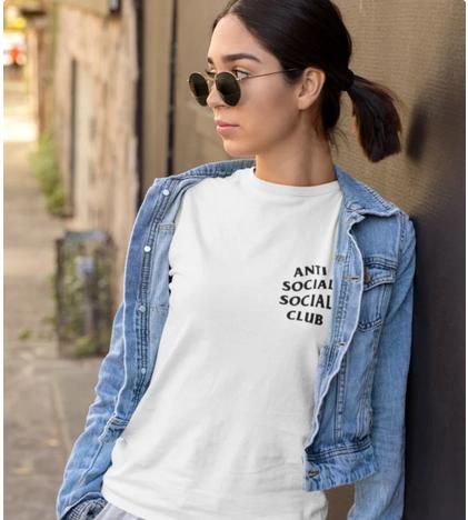 BLACKPINK - LISA ANTI SOCIAL SOCIAL CLUB TSHIRT