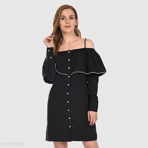Black hot dress