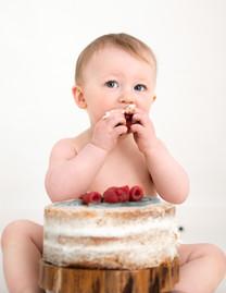 1st Birthday Cake Smash Photographer, Snettisham, Norfolk