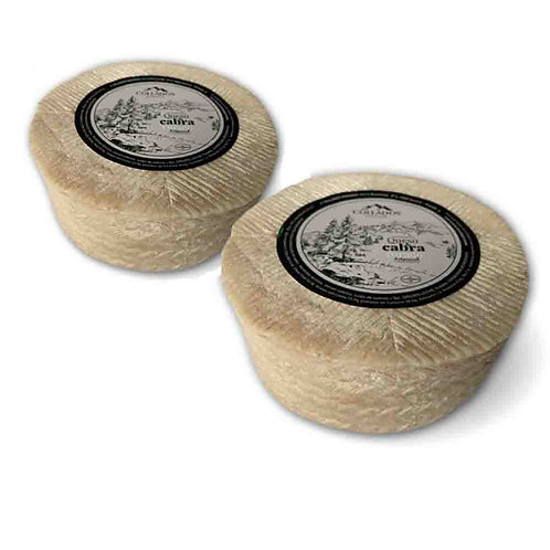 Pack de 2 Quesos de Cabra del tipo Curado Artesanal (1,600 g. aprox./unid.)