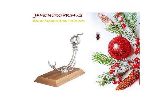 Jamonero Primus Base Madera de Fresno