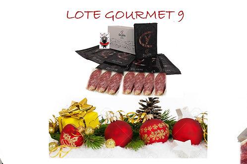 LOTE GOURMET 9 - 20 sobres (80gr) lomo bellota 100% ibérico