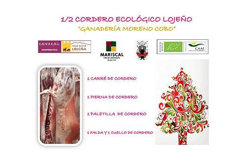 """1/2 Cordero Ecológico Lojeño """" Ganadería Moreno Cobo """""""
