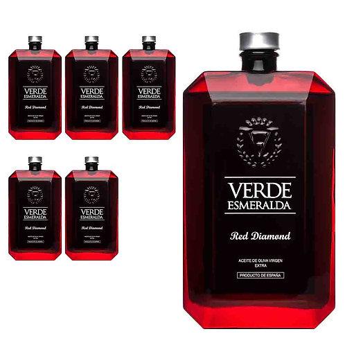 Verde Esmeralda - Red Diamond - Royal - 6 Botellas 500 ml