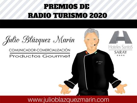 Premios de Radio Turismo 2020 en el Hotel Saray de Granada.
