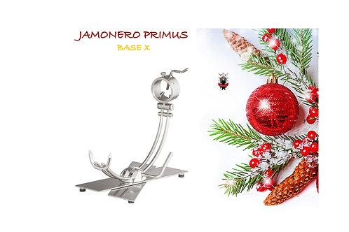 Jamonero Primus X Base Plegable de Acero Vibrado