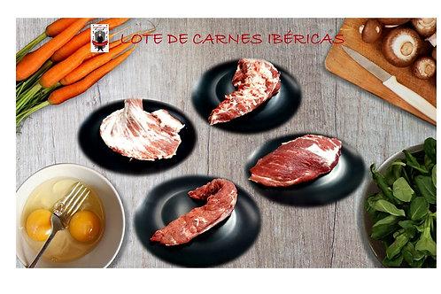 Lote de Carnes Ibéricas