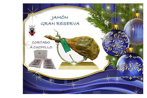 Jamón Gran Reserva - Cortado a Cuchillo - (8 kg.- 8,500 kg.)
