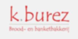 Logo lichtgrijs achtergrond rode letters