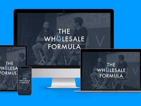 The Wholesale Formula Revealed! [Next Level Online Business With Amazon!]