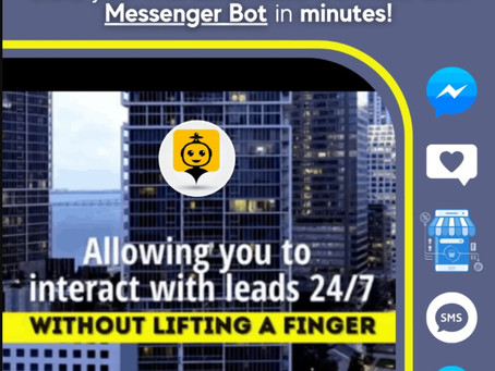 Increase Sales With Next Level Messenger Bot!