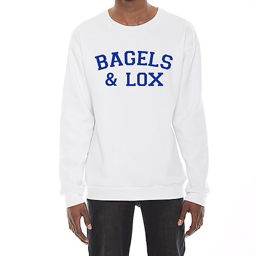 Bagels & Lox Crewneck Sweatshirt (Unisex)