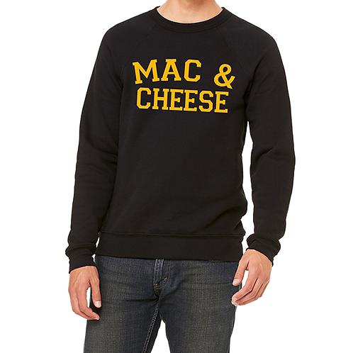 Mac & Cheese Crewneck Sweatshirt (Unisex)