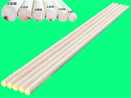 White Wax Wushu Stick 白腊杆(武术)