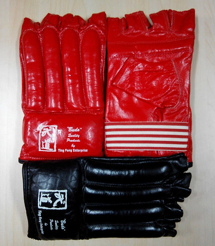 Bag Glove Open Leather