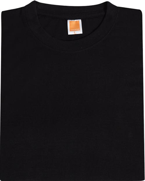T-Shirt Cotton R/N (Black)