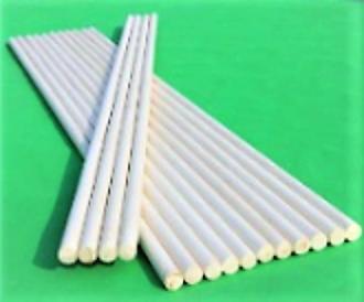 White Wax Wushu Stick Tapered 白腊杆(武术)