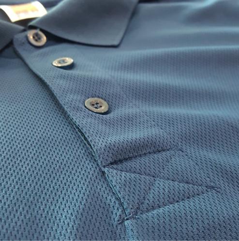 T-Shirt Quick dry Collar (Black)